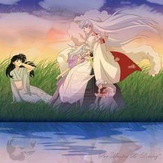 Rin and Sesshoumaru