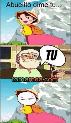 EL abuelito trolling
