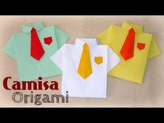 Camisa de Papel - Origami - [ Dia dos Pais ] - YouTube