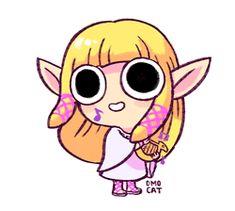 GIF: Zelda (Accompanying music: http://www.youtube.com/watch?v=KC5kHf58GMI )