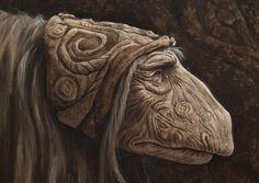 The Dark Crystal Mystics Mystic head