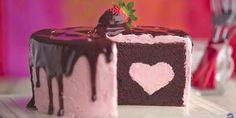 Chocolate Dipped Strawberry Cake Recipe