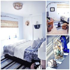 Coastal guest rooms