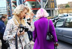How to wear it: What to wear when you have colorful hair!