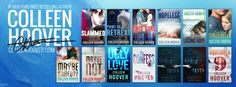 Colleen Hoover books. I really like her writing style.
