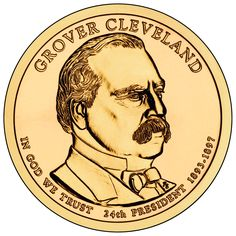 22 2012 P+D Grover Cleveland ~ Random Positions ~ 6 Coins from US Mint Rolls