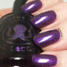 Carpe Noctem Cosmetics & Octopus Party Nail Lacquer - Adoption Duo - Tender, loving share
