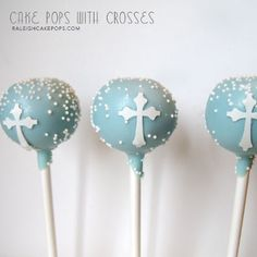 first communion cake pops - Google Search
