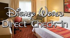 Walt Disney World has recently begun offering Direct-to-room Check-In for it's onsite resorts. This version of check-in is being rolled out in three phases that will conclude on March 10, 2015. Gu...