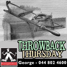 Here's some #ThrowBackThursday Saws date back at least to the Egyptians, who used copper hand saws up to .5 metres long. The Greeks and Romans improved the basic design, by introducing wooden frames for support, The big break through came after 1650, when the process of rolling wide strip steel was developed in Sheffield and Holland. Wider blades cancelled out the wooden frame and the steel hand saw, as we know it, was born.