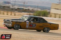 Cheryl Herrick's 1967 Chevy II Nova at #DriveOPTIMA Las Vegas 2015 on the @falkentire Road Course Time Trial