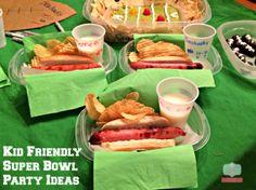 super bowl party ideas #RubbermaidSharpie #ad #pmedia Kid super bowl party