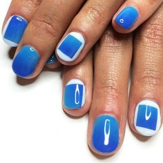 12 Manis That Will Make You Want Squoval Nails ASAP via Brit + Co.