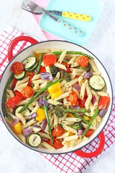 Roasted Vegetable Pasta Salad more at my site You-be-fit.com