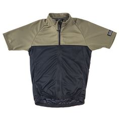 S1-A Riding Jersey Black & Sage
