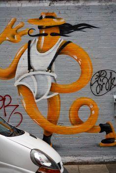 MARK GMEHLING http://www.widewalls.ch/artist/mark-gmehling/ #MarkGmehling #contemporary #art #graffiti #streetart #illustration #sculpture