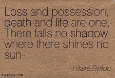 there falls no shadow - ***