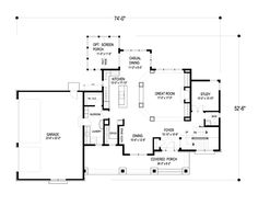 First Floor of Plan ID: 47114