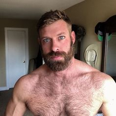 Hot hairy naked hillbilly bear very
