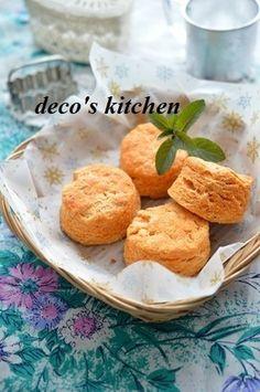 トマトとチーズのおからスコーン ~理想のトマトとおからでヘルシー♪ +ちび、今日は検査です!|レシピブログ