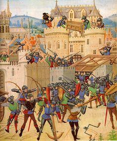 garnkiem go! garnkiem! - Siege in the course of the Hundred Years War