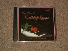 John Livingston THE BEST OF CANDLELIGHT CLASSICS Collection (CD, Music, Piano) #CandlelightClassics