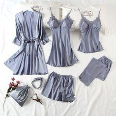 Pijamas Women, Babydoll, Sexy Women, Women Wear, Pajama Suit, Sexy Pajamas, Lace Nightgown, Sleepwear Women, Elegant Woman