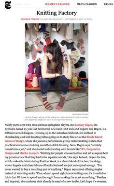 Lindsay Degen at T Magazine