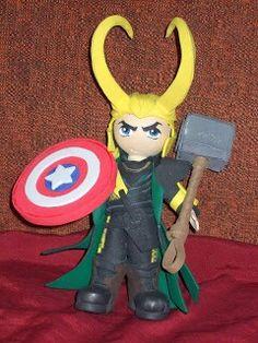 Friki fofucha Loki ladrón