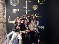 """""""Les 4 fantastiques"""" ont réussi leur mission à la Bastille bravo ! Merci de nous avoir aidé !!"""