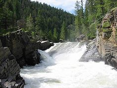 Kootenai Falls ... set of The Kissing Bridge ... coming next year by Tricia Goyer