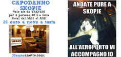 CAPODANNO A 26 EURO A NOTTE A TESTA! SKOPJE volo a/r da Treviso dal 30 Dicembre al 02 Gennaio