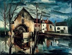 Le moulin de Valmondois, by Maurice de Vlaminck (French, 1876–1958).