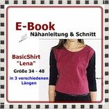 E-Book - BasicShirt LENA Gr.34-48 - StoffAkzente Taschen und Accessoires