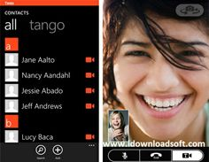 Tango is a video calling software program allowing free mobile-to-mobile or mobile-to-PC calls to anywhere in the world
