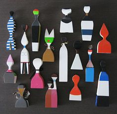 thedesignhoarder - post number eight - alexander girard wooden dolls...