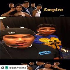 Instagram @empirebbk    #Repost @clutchwilliams with @repostapp  @empirefox gets invaded by @clutchwilliams #IWYG #EmpireFox #Empire @tasha4realsmith @tarajiphenson @tarhondajay @brezofficial @jussiesmollett @theoriginalbigdaddy  #luciouslyonbelike  empire fox