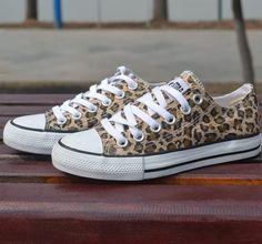 Leopard control casual canvas shoes someone my birthday is in may :) animal print converse Leopard Converse, Leopard Shoes, Converse Shoes, Leopard Sneakers, Canvas Sneakers, Leopard Print Trainers, Cheetah Print Shoes, Custom Converse, Converse Sneakers
