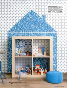 into a temporary dollhouse. | 15 Ikea Hacks For Your Child's Dream Bedroom