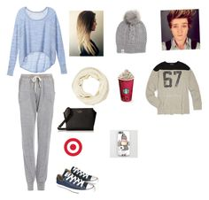 """""""Running into Connor"""" by sopluvesonedirection ❤ liked on Polyvore featuring moda, Victoria's Secret, Project Social T, Rachel Zoe, UGG Australia, Converse, Ralph Lauren e Kate Spade"""