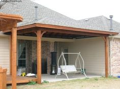 adding a covered patio to a cross