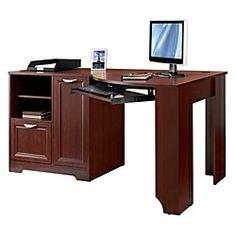 1000 images about home office space on pinterest home office corner desk and desks - Magellan collection corner workstation ...