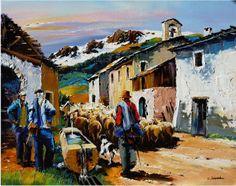 peinture de christian jequel