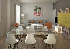 ARREDAMENTO E DINTORNI: ristrutturazione appartamento anni 50 (progetto per contest)