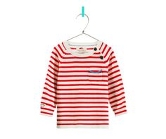 Image 2 of STRIPED SWEATER WITH POCKET from Zara
