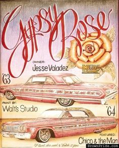 61 best gypsy rose other lowrider images lowrider art motorcycles rh pinterest com