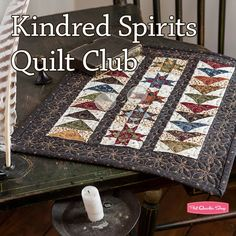 Kindred Spirits Quilt ClubYellow Creek Quilt Designs and Windham Fabrics | Fat Quarter Shop