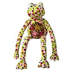 """Mary Meyer Print Pizzazz ZazzyLegs Frog 25"""" by Mary Meyer. $17.10"""