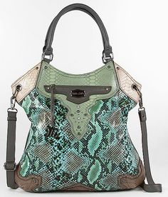 This is so out of my element, I love it.  Could me my next work bag!!! Miss Me Snake Print Purse