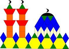 99 Creative Mosque Projects - pattern blocks - masjids